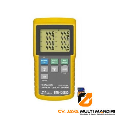 Termometer Digital Lutron BTM-4208SD