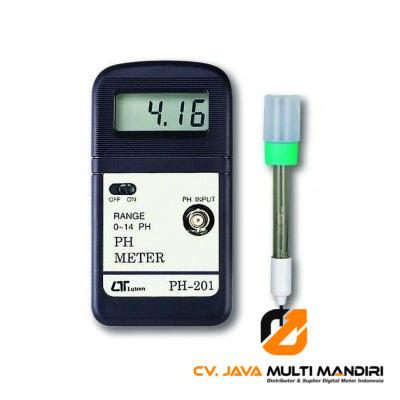 pH Meter Lutron PH-201